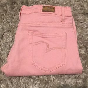 Reign pink skinny jeans